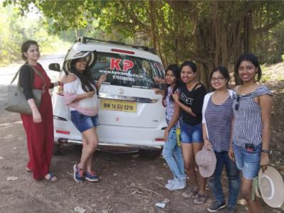 Goa trip with KP