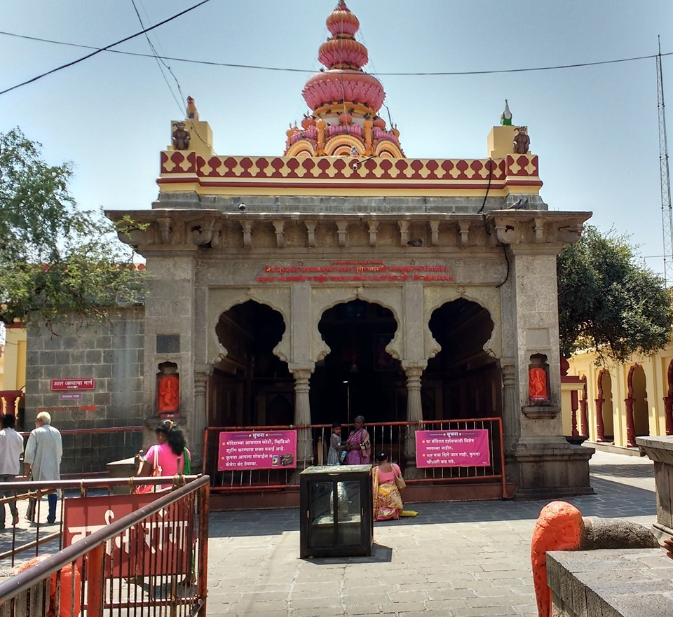 First Ganesh Temple Visit of Ashtavinyak tour.