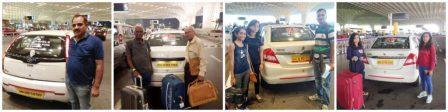 Pune to Mumbai Airport Taxi Passenger