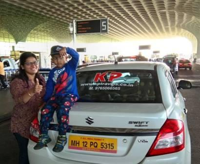 happy customer for pune to mumbai  airport cab