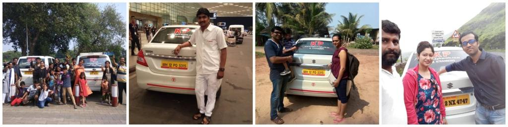 KP's Happy Car Rental Passenger from Pune